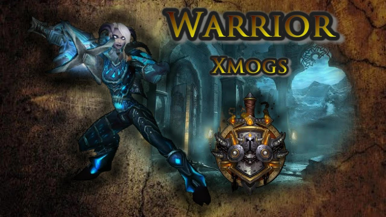 sc 1 st  YouTube & Warrior Transmogs - Electric Blue Xmog Set - YouTube