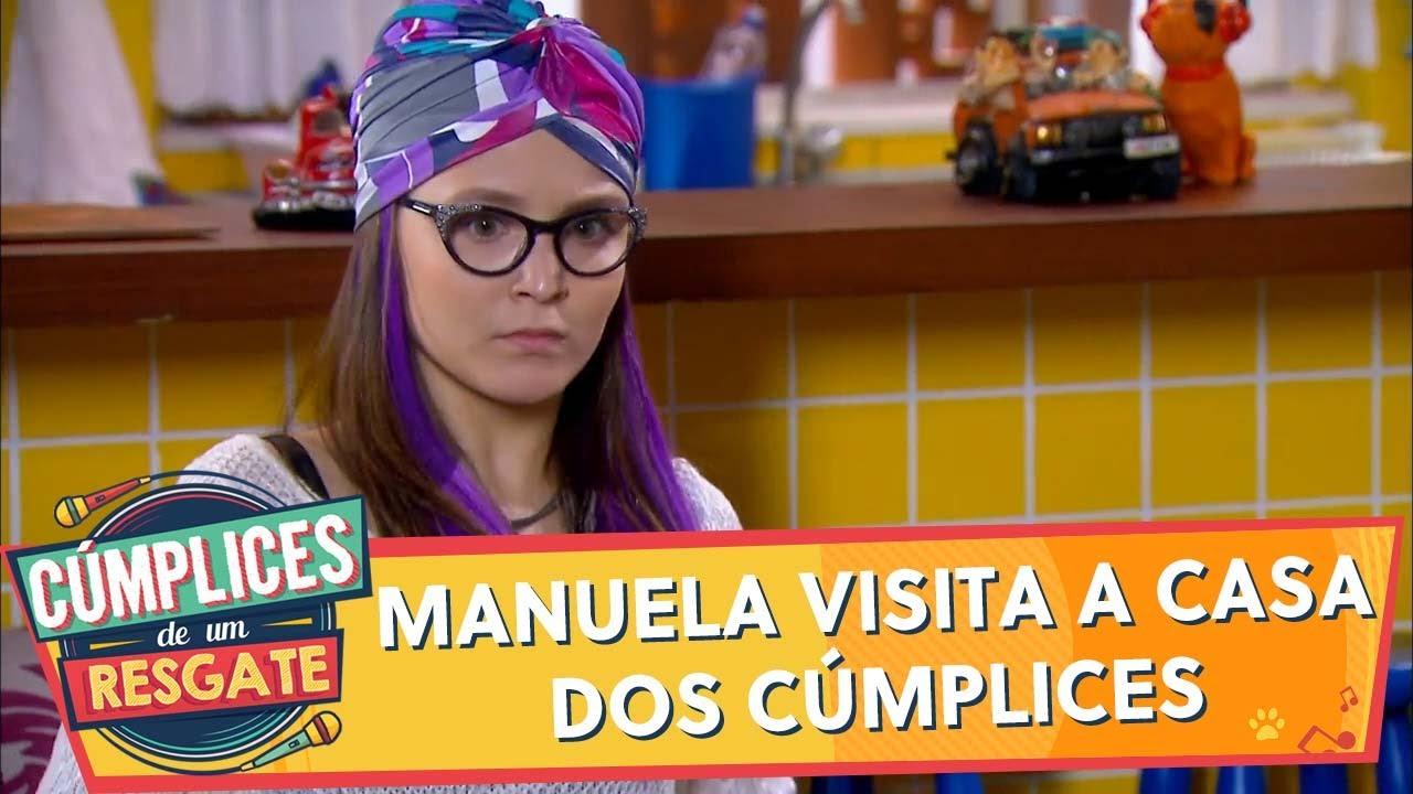 Manuela visita a casa dos Cúmplices | Cúmplices de Um Resgate (18/12/19)