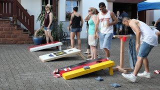Creating Your Village Through Play: Cornhole in Germany