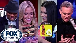 FS1 Group Text [Super Bowl Party]