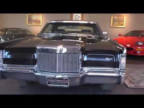 1969 Lincoln Continental Mark III walk around & start up