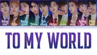 [vietsub/han/rom] produce x 101 - to my world (color coded lyrics)
