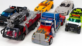 Transformers 3 Optimus Prime Bumblebee SentinelPrime Rachet Ironhide Sideswipe Vehicle Robot Car Toy