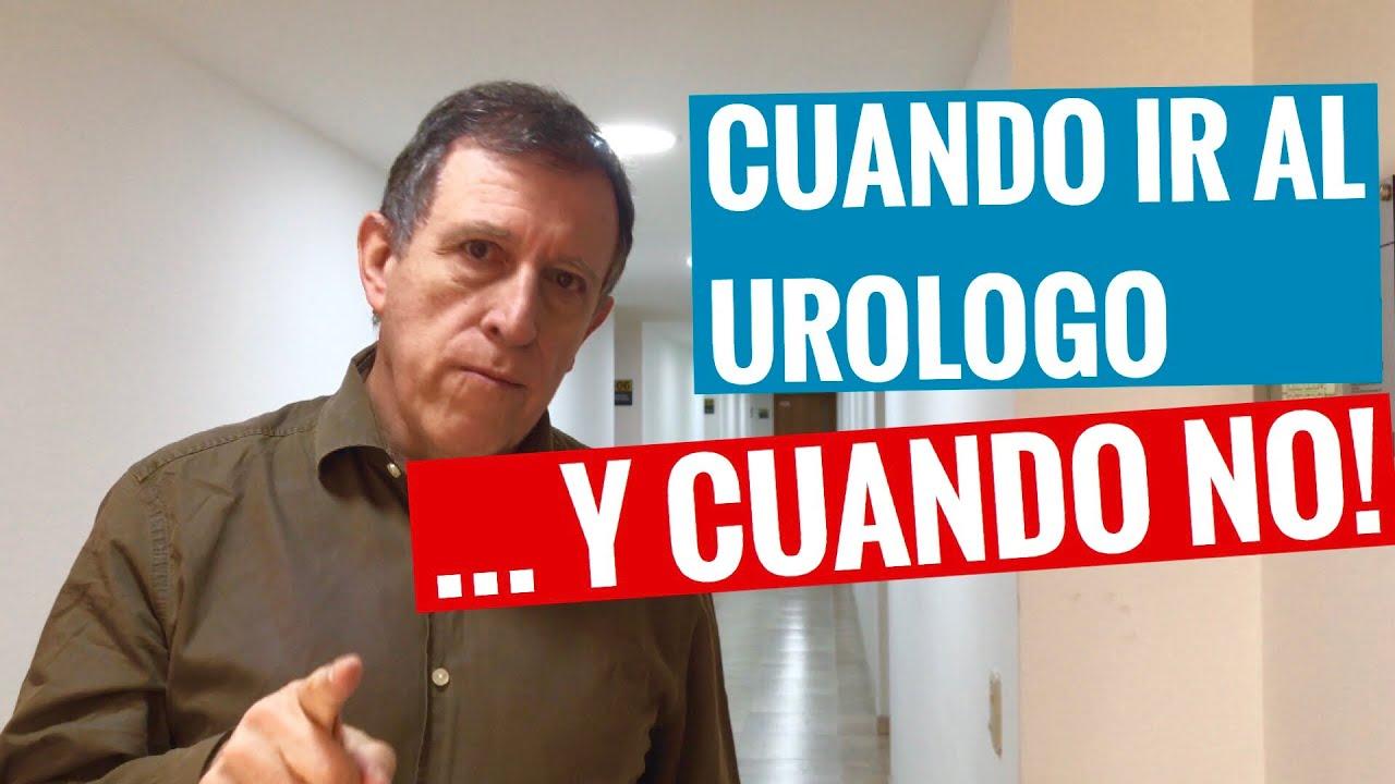 como ir al urologo