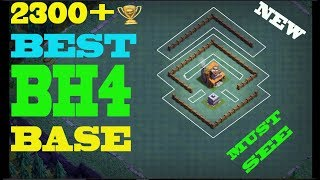 Best Builder Hall 4 Base | BH4 Builder Base + Defense Replay | Clash Of Clans
