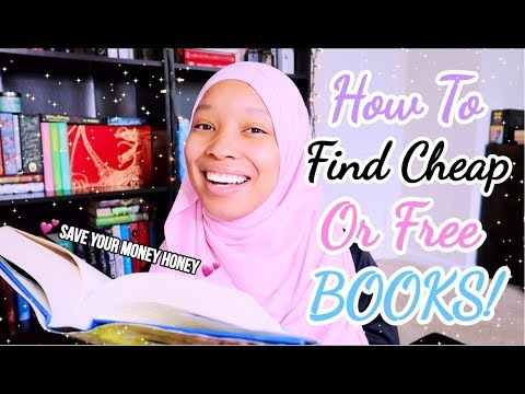 ✨HOW TO FIND CHEAP BOOKS! ✨AND FREE BOOKS (Hardcovers, EBooks, Etc.)