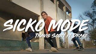 Travis Scott - SICKO MODE ft. Drake - Dance Choreography by Rohit- Uphold Dance Studio
