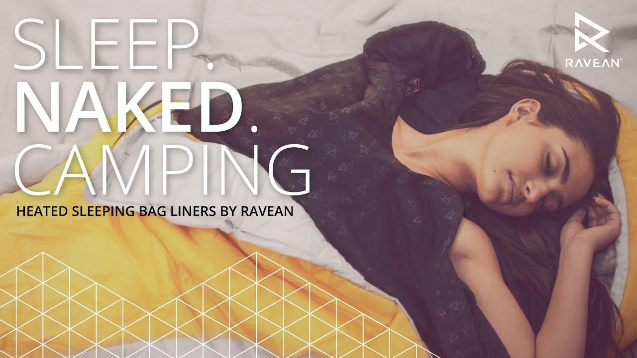 Sleeping naked at camp