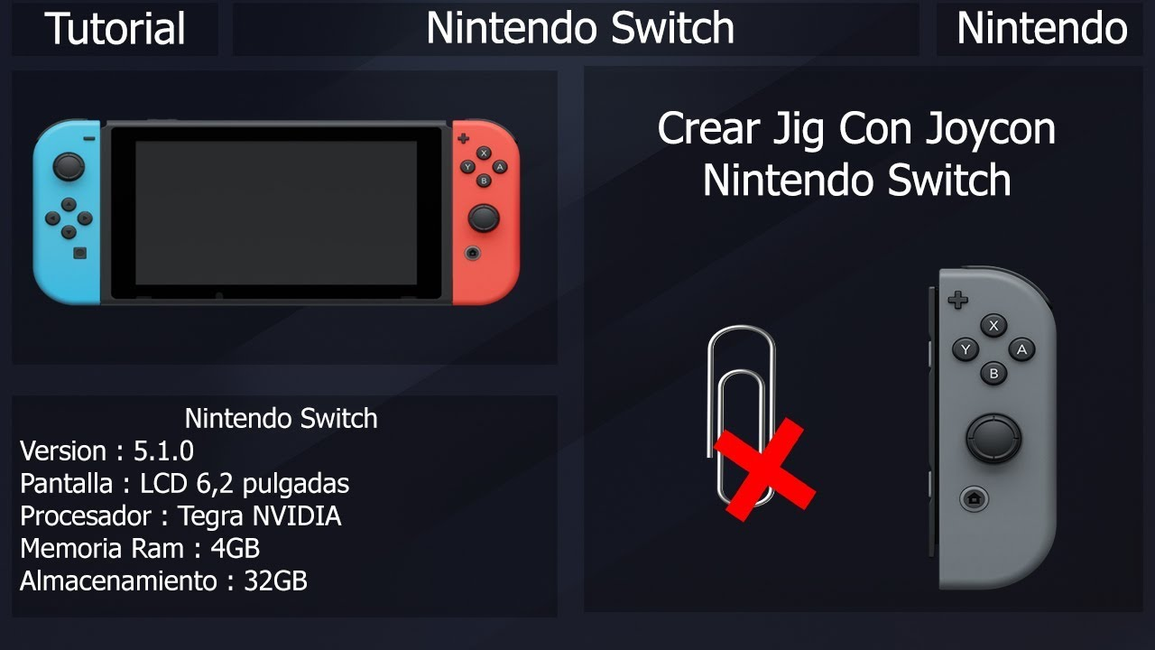 Nintendo Switch Jig