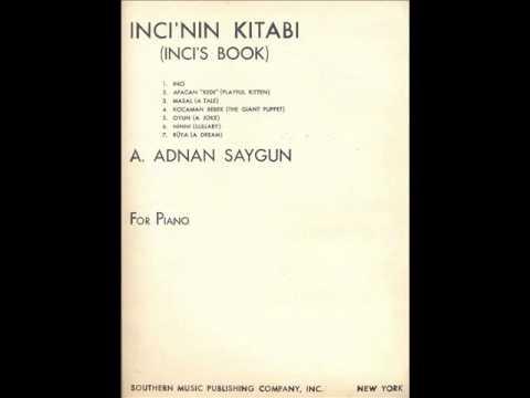 A.Adnan Saygun - Inci's Book(Orchestral Version) Hikmet Şimşek - Ankara Radio Chamber Orchestra