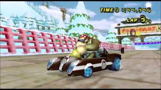 [Mario Kart Wii TAS] DK's Snowboard Cross Automatic-Kart 1:44:346
