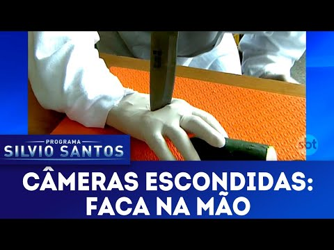 Faca na Mão | Câmeras Escondidas (29/04/18)