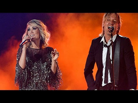 Keith Urban & Carrie Underwood's Performance At The 2017 ACM Awards Was Amazing