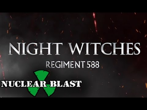 SABATON - Night Witches (OFFICIAL LYRIC VIDEO)