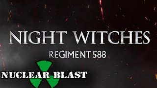 Repeat youtube video SABATON - Night Witches (OFFICIAL LYRIC VIDEO)