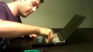 How to replace HDD Sony Vaio Laptop VGN-SZ5XN/C
