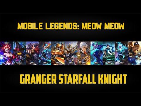 MLBB: Granger Starfall Knight Road To Pro!