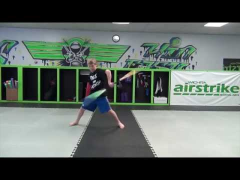 Zach Thomas Martial Arts Weapons Athlete Wichita Airstrike