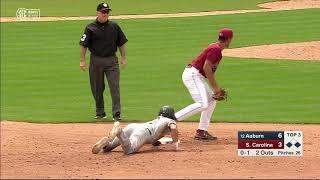 Auburn Baseball vs. South Carolina Game 3 Highlights
