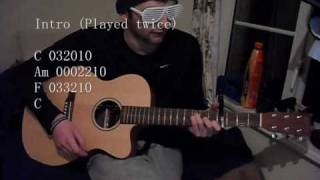 Beginners Guitar - The Enemy - You're Not Alone.wmv