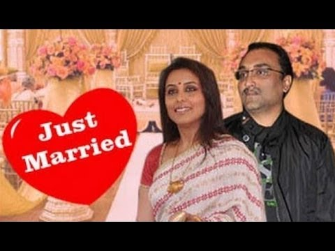 Rani Mukerji Gets Married To Aditya Chopra