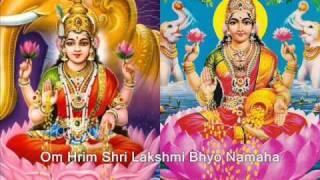 Shri Lakshmi Maha Mantra - Om Hrim Shri Lakshmi Bhyo Namaha
