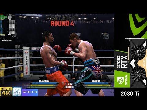Fight Night Round 4 4K RPS3 Emulator   RTX 2080 Ti OC   I9 9900K 5GHz