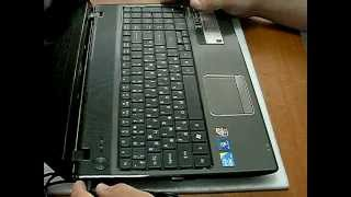 видео Ноутбук Acer Aspire 5520G не включается или включается через раз.