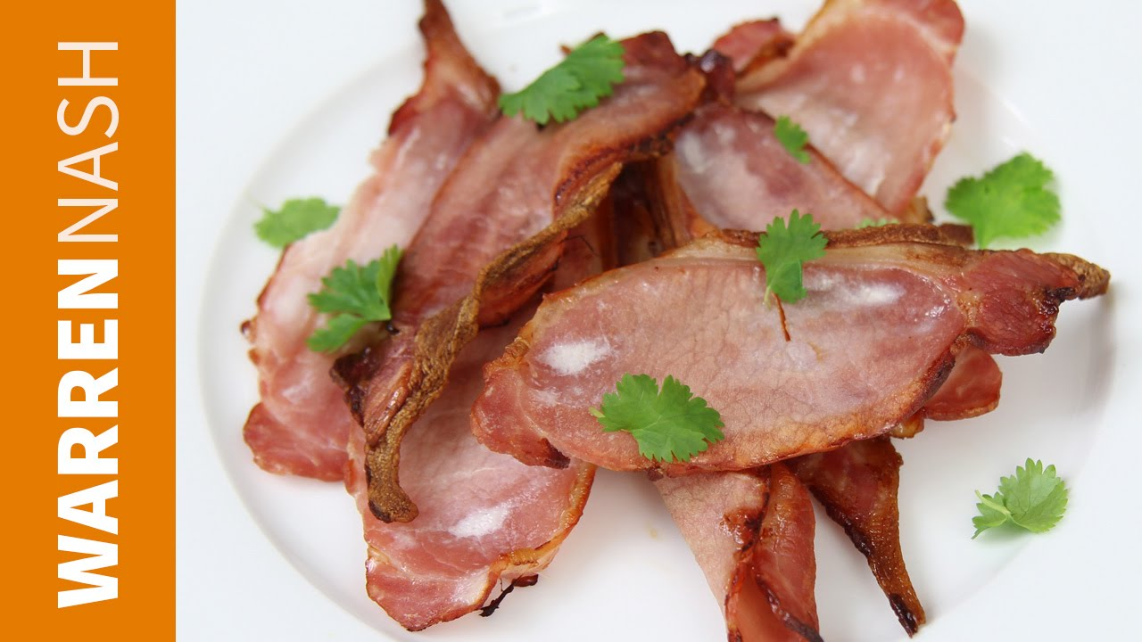 How To Bake Bacon In The Oven  60 Sec Vid  Recipes By Warren Nash