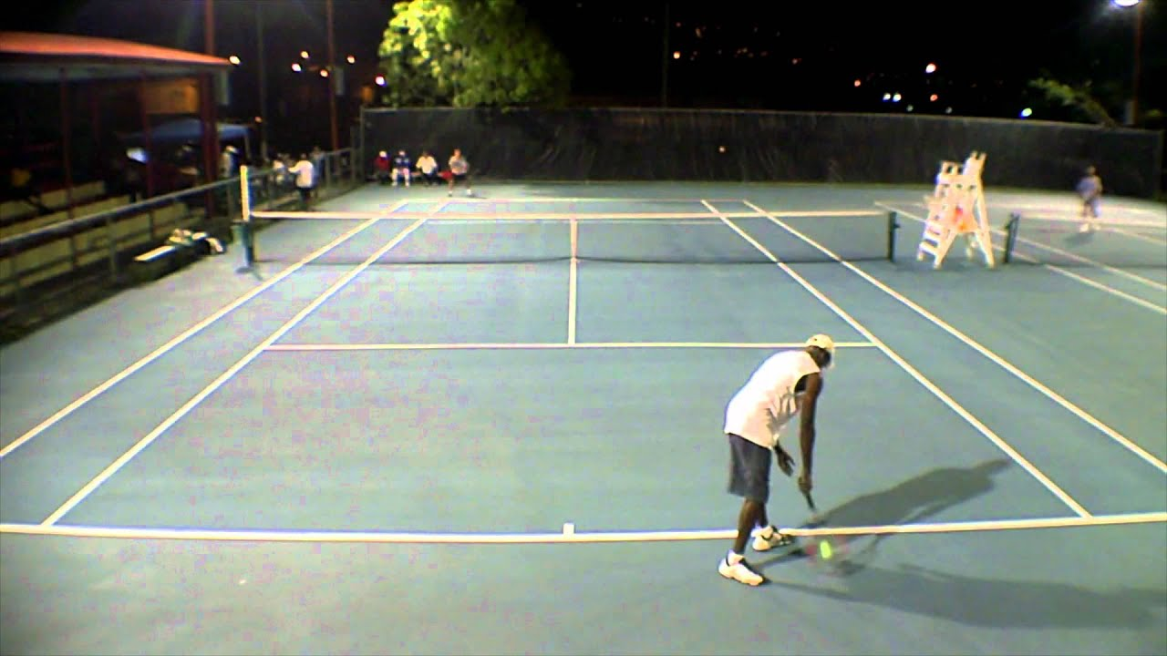 Fence Mounted Video At Sub Base Tennis Courts St Thomas Usvi Usvi