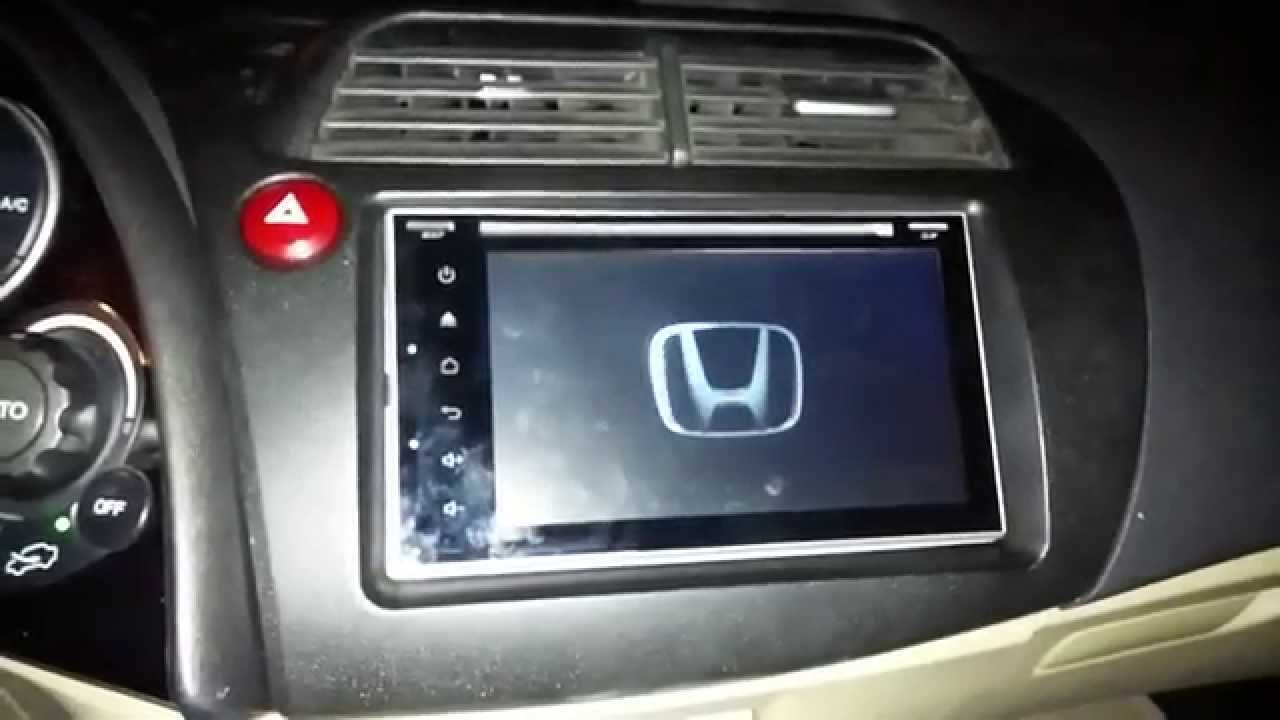 Honda Civic Hb 2006 2011 Android Double Din Montajı Links