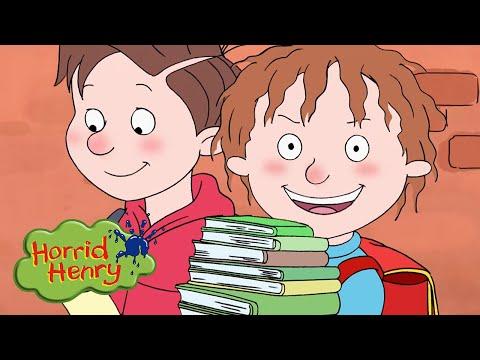 Homework Business | Horrid Henry | Cartoons for Children