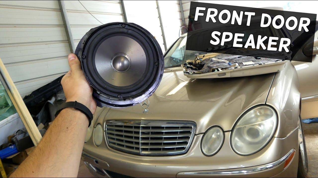 mercedes w211 front door speaker removal replacement youtube. Black Bedroom Furniture Sets. Home Design Ideas