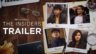 The Insiders | Official Trailer | Releasing on TVFPLAY and MX PLAYER