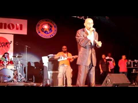 Caribbean American Night  at Eisenhower Park  2011- Frankie Paul