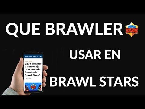 ¿Qué Brawler o Personaje usar en cada Evento de Brawl Stars?