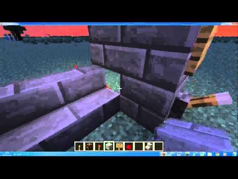 minecraft tutorial red stone porta con codice