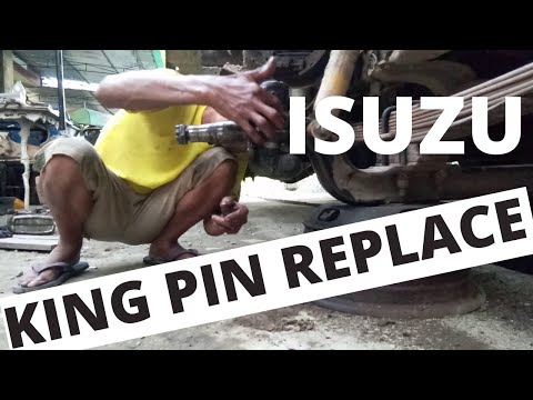 Isuzu 4be1 Replace King Pin how to,easy (DIY)