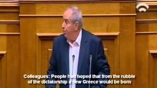 Greece's main opposition Syriza party has come under fire from oppo...
