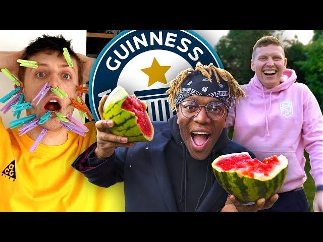 SIDEMEN BREAK WORLD RECORDS