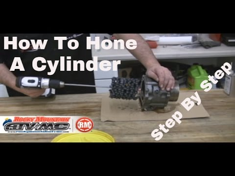 Motorcycle and ATV Cylinder Hone Instructions - Flex-Hone