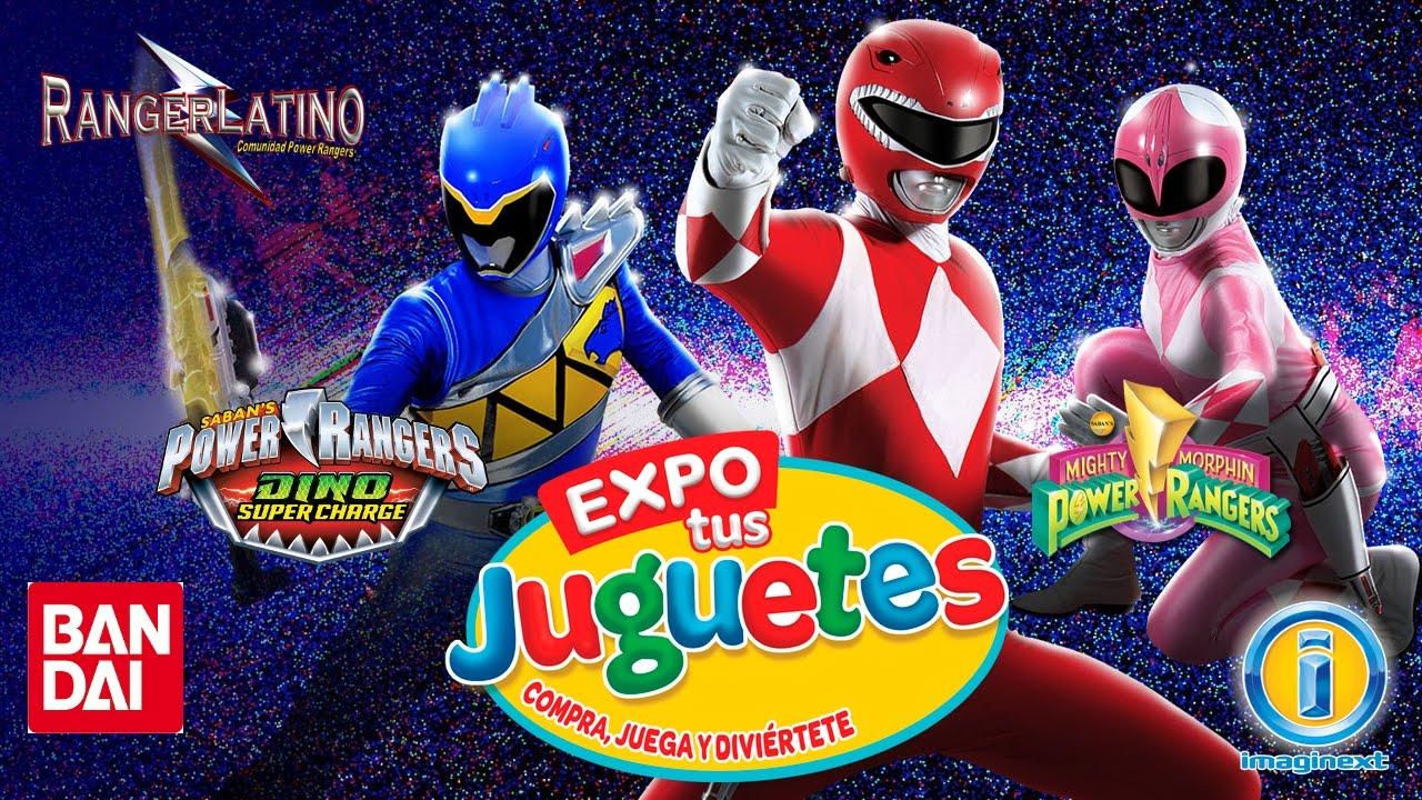 Expo 2016 Tus Power Rangers Bandai De Imaginext Juguetes E xdoerCB