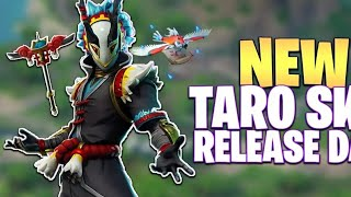 FORTNITE STORE NEW SKIN TARO GAMEPLAY
