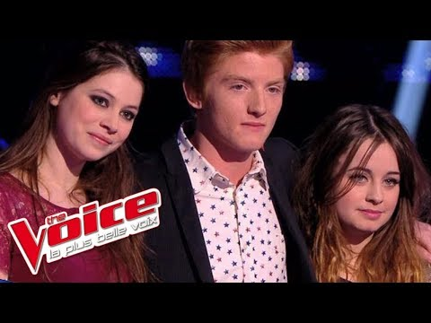 Calogero – C'est dit | Elliott Schmitt VS Leïla Huissoud VS Florence Coste | The Voice 2014 | Battle
