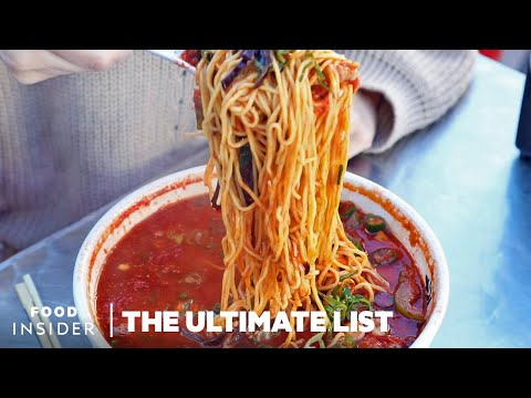 44 Noodle Dishes To Eat In Your Lifetime | The Ultimate List