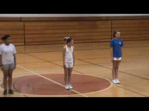 Paige's Mock Cheerleader Tryouts