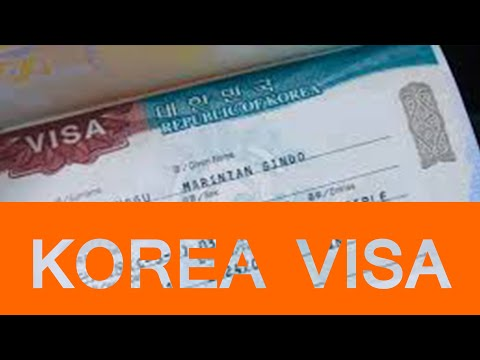 How to check  Visa for Korea l Online visa application  status