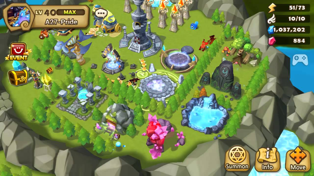 Image result for summoners war sky arena