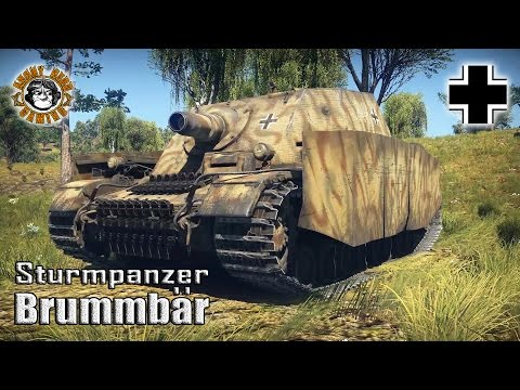 War Thunder: The Brummbar, Tier-3 Premium German Tank Destroyer