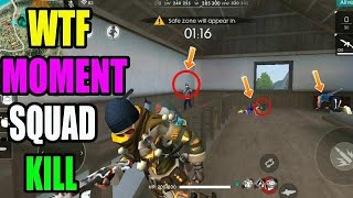 WTF Moment || Free fire Tricks|| Rank match tips and tricks|| Run Gaming Tamil